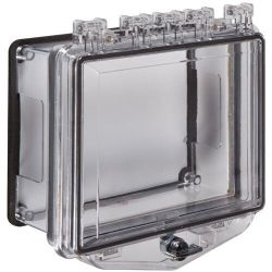 STI-7511-D Polycarbonate Enclosure with Conduit Spacer for Surface Mount & Thumb Lock