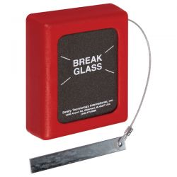 STI-6700 STI Break Glass Key Box - Medium Size