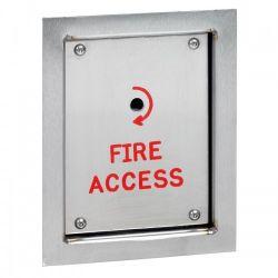 Firemans Drop Key Switch Unit - Flush Mounted - STP-FS/DK