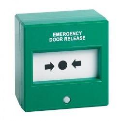 STP-KGG300SG Emergency Door Release Triple Pole Break Glass Unit - Green