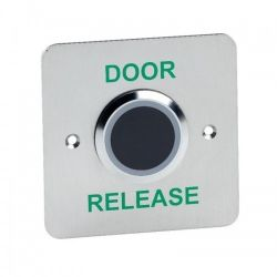 Contactless Stainless Steel Exit Button 'Door Release' - STP-NT200