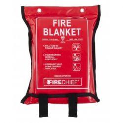 Firechief SVB3/K100-P 1.2 x 1.8m Fire Blanket - Soft Case