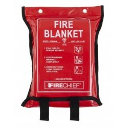 Firechief SVB3/K40 1.2 x 1.8m Fire Blanket - Soft Case