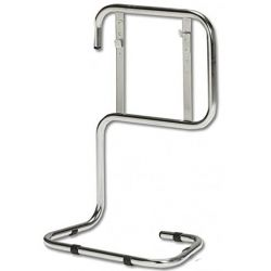 Firechief Double Chrome Tubular Metal Fire Extinguisher Stand - FCC2