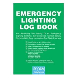 Fire Safety Log Book Twin Pack - Includes Fire Alarm & Emergency Lighting Log Books