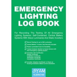 SYAM Emergency Lighting Log Book - ELB/SC160