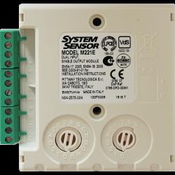 System Sensor M221E Dual Input Single Output Interface - Addressable