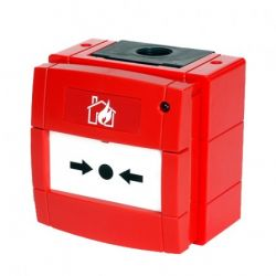 System Sensor WCP5A-RP01-SG01 Weatherproof Manual Call Point IP67 Fire Alarm Analogue Addressable