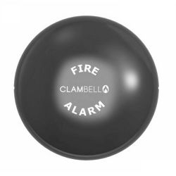"Vimpex ClamBell 24 V 6"" Fire Alarm Bell - Shallow Base - Grey EN54-3 - CBE6-GS-024-EN"