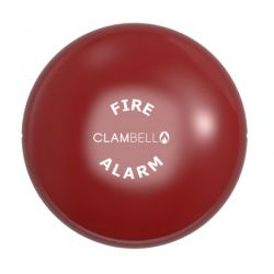 """Vimpex ClamBell 230V AC 6"""" Fire Alarm Bell - Weatherproof - Red - CBE6-RW-230-EN"""