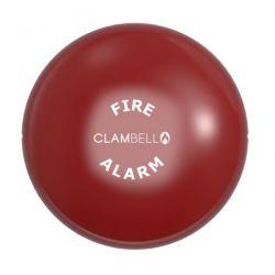 "Vimpex ClamBell 230V AC 6"" Fire Alarm Bell - Deep Base - Red - CBE6-RD-230-EN"