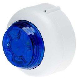 Cranford Controls VXB2-SB-WB/BL Dual LED Beacon - Shallow Base Red Body Clear Lens (512-083)