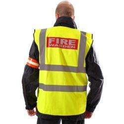 Fire Warden Vest - Hi-Visibility