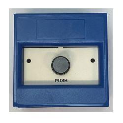 KAC WB9302/SB Momentary Push Button - Blue