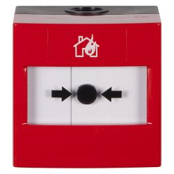STI WRP2-R-01 ReSet Weatherproof Conventional Manual Call Point - Red - Surface Mounting Only