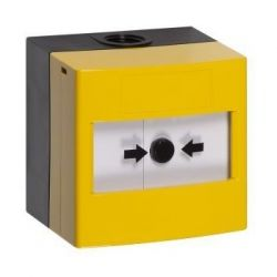 STI WRP2-Y-02 Weatherproof Outdoor Reset Manual Call Point - Yellow