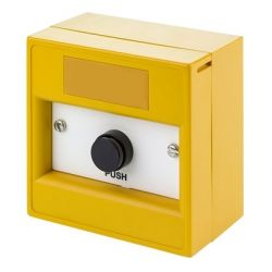 KAC WY9302/SY Momentary Push Button - Yellow