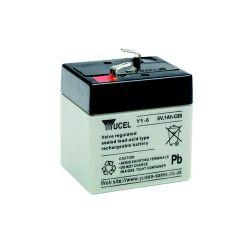 Yuasa Yucel Y1-6 Battery - 1Ah 6 Volt
