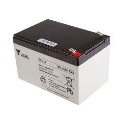 Yuasa Yucel Y14-12 Sealed Lead Acid Battery - 14Ah 12V