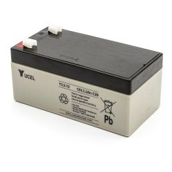 Yuasa Y3.2-12 Yucel 3.2Ah 12V Sealed Lead Acid Battery