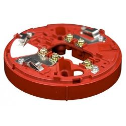Hochiki YBO-R/3(RED) Wall Sounder Base Plate - Red