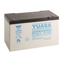 Yuasa NPC100-12I Cyclic Battery - 100Ah 12V