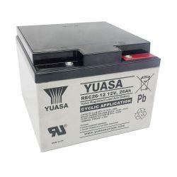 Yuasa REC26-12I Cyclic 26Ah 12V VRLA Battery