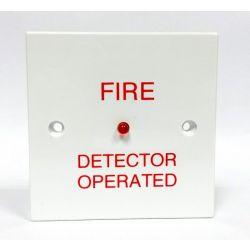 Bardic ZF18 Square Remote Indicator Unit