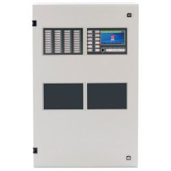C-Tec ZFP6M/40/X ZFP 6 Loop Analogue Addressable Fire Alarm Control Panel With Medium Enclosure - 40 Zonal LEDs