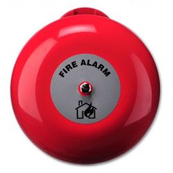 Ziton AB360 6 Inch Fire Alarm Bell - Red