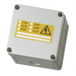 Ziton SMB-DIN1 Surface Mounting Box For A Series Module - 2 Single or 1 Double