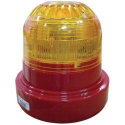 Ziton ZR455V-3RA Wireless Sounder Beacon - Red Body Amber Lens