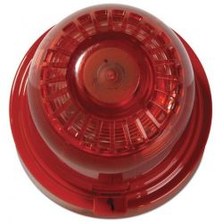 Ziton ZR455V-3RR Wireless Sounder Beacon - Red Body Red Lens
