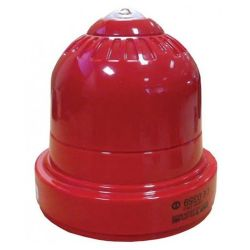 Ziton ZRC460-3C Wireless Beacon - Red Body With Clear Flash