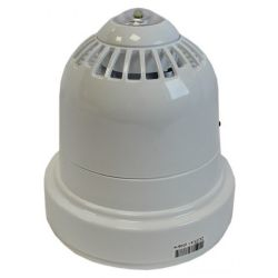 Ziton ZRC466-3WC Wireless Sounder Beacon - White Body With Clear Flash