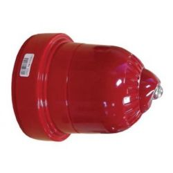 Ziton ZRW466-3C Wireless Sounder Beacon - Red Body With Clear Flash