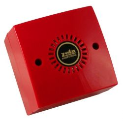 Zeta ZMDD/8R Midtone Conventional Electronic Sounder - Red