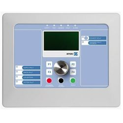 Ziton ZP2 Fire Alarm Compact Repeater Panel With Fire Brigade Controls - ZP2-FR-FB2-C-99