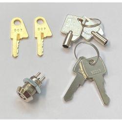 Ziton Replacement 3 Key Pack For Ziton ZP3 Panel - ZP3-KEY