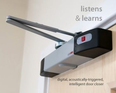 Geofire Agrippa Battery Powered Acoustic Door Closer