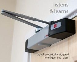 Wireless Battery Powered Overhead Door Closer