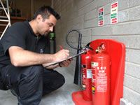 Fire Extinguisher Maintenance In Lancashire