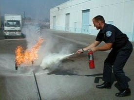 Fire Extinguisher Training In Lancashire