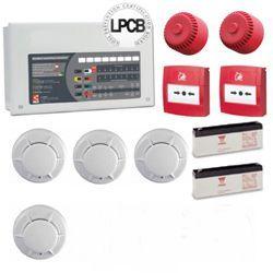 2 Zone Fire Alarm System Kit