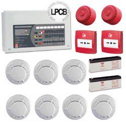 4 Zone Fire Alarm System Kits