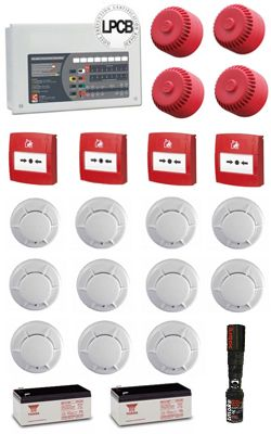 8 Zone CFP Fire Alarm System Kit