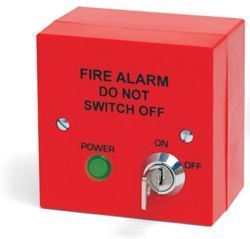 400-210R Fire Alarm Mains Isolation Keyswitch