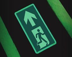 Jalite 4056I Floor Mounted Exit Sign