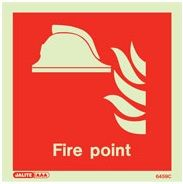 Jalite Fire Point Location Sign