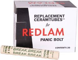 Panic Bolts - Replacement Redlam Panic Bolt Tubes